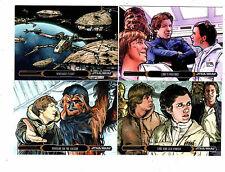 Star wars Illustrated The Empire Strikes Back Mini Master 138 card set