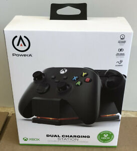 BRAND NEW SEALED Power A Xbox Series X & Xbox One Dual Charging Stand Black