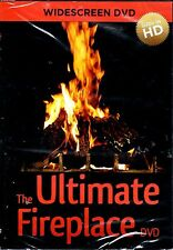 THE ULTIMATE FIREPLACE DVD: VIRTUAL HD CHRISTMAS w/SOUNDS, MUSIC & HOLIDAY SCENE