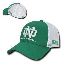 University of North Dakota UND Sioux NCAA Cotton Trucker Mesh Baseball Hat Cap