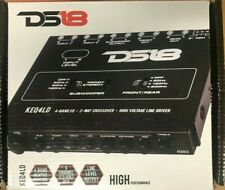 DS18 - KEQ4LD - 4 Band Equalizer With 2-Way Crossover
