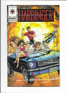 HARBINGER #1 ==> 1ST APPEARANCE ISSUE WITH COUPON VALIANT COMICS 1992