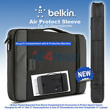 Belkin Air Protect Ruggerdised Carry Sleeve for 11'' HP  Dell  Acer Chromebooks