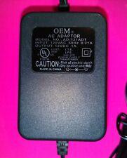 Oem Ac Adapter Model No. Ad-121Adt 120Vac/18W/12Vdc Plug-In Class 2 Transformer
