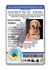 XpressID HoloSeal Service Dog ID Card ( Custom)