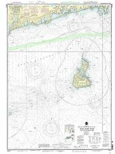 NOAA Chart Block Island Sound Point Judith to Montauk Point 20th Edition 13215
