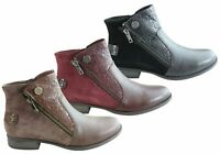 Planet Shoes Ryde Womens Comfortable Ankle Boots With Arch Support - ShopShoesAU