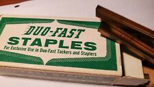 """Duo-Fast 5000 Staples ½"""" Crown, Legs 3/16"""" No. 306-D, 5,000/box /Lot of 2 boxes"""