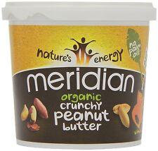 Meridian Organic Crunchy Peanut Butter With No Added Salt 1 Kg