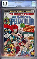 MARVEL SPECTACULAR #1 CGC 9.8 THOR PREMIERE KEY 1st ISSUE HIGHEST GRADED 1973