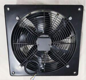 axial plate fan 230V 250-600mm 1400rpm, industrial extractor fan speed control