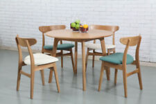 Round Solid Wood Dining Tables