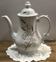 Classic Wunsiedel Bavaria Porzellan Coffee Tea Pot Teapot White Germany