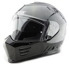 "Simpson Carbon Bandit Helmet Snell Sa2015 M Medium 58cm 7 1/4"" FIA MSA Hans"
