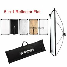 """Flat Reflector Diffuser Panel 100x180cm 39x71"""" 5in1 Photo Studio for Light Stand"""
