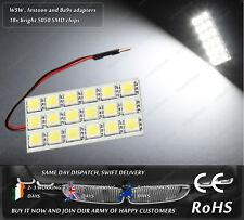 LED SMD T10 W5W 501 Wedge Ba9s T4W Festoon C5W Xenon White Dome Interior Light