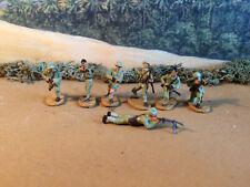 World War 2 Caesar Italian infantry   1:72 painted