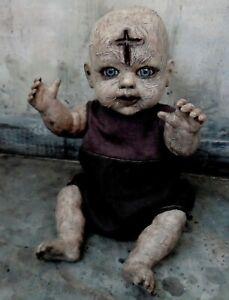 OOAK Halloween Creepy Horror Gothic Doll