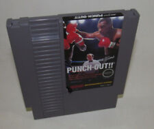 Mike Tyson's Punch-Out (Nintendo Entertainment System, 1987) NES Game Good Shape