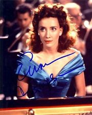 EMMA THOMPSON AUTOGRAPHED SIGNED 8X10 PHOTO BLUE SATIN DRESS WITH COA
