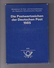 DDR - Jahrbuch 1985, komplett postfrisch - bitte ansehen !!!