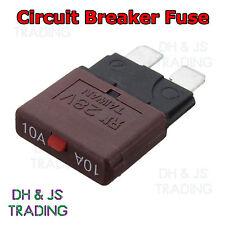 10a interruptor de circuito fusible de lámina 12V 24V fusibles reseteables Marina Rally automotriz