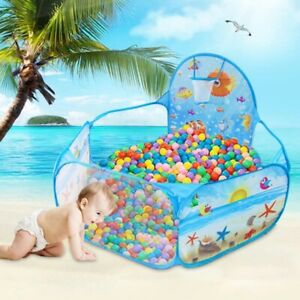 Tent Ocean Series Cartoon Game Educational Ball Pits Portable Pool Foldable Toy
