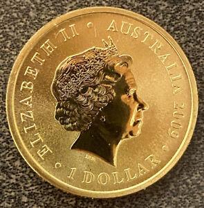 🔥Rare Proof UNC $1 Dollar Australia Edition Special Colour Coins 🇦🇺New Coin