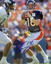 "Peyton Manning American football quarterback 8""x 10"" Signed Color PHOTO REPRINT"