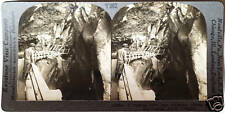 Keystone Stereoview of The Heart of Box Canyon in COLORADO from 1930's T400 Set