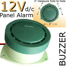 "240V AC Panel Mount ALARM 3"" BIG Buzzer Electronic DIY repalcement NEW HI POWER"