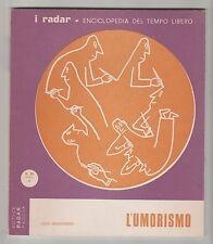 I radar serie XI n°3 che cos'è l'umorismo - L. Montobbio