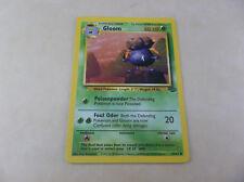 Pokémon 1999 Gloom Grass Type Pokémon Trading Card 37/64