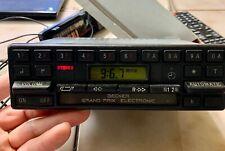 Mercedes Becker Grand Prix Electronic AM FM Cassette Radio Model 612 WORKING