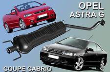 Auspuff mitte / Opel Astra G Coupe , Cabriolet 1.6 & 1.8 16V Bertone Mitteltopf