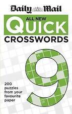Daily Mail All New Quick Crosswords 9 (The Daily Mail Puzzle Books),Very Good Co