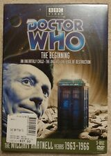 New listing Doctor Who - The Beginning Collection (New Dvd, 2006, 3-Disc Set)