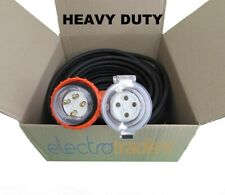 20 Amp Heavy Duty Extension Lead 3 Phase 4 Pin 10 Metres