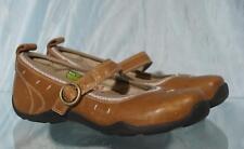 Nice AHNU Milk Chocolate Brown Mary Janes Sz US 7.5 UK 6 EUR 38.5 JP 245