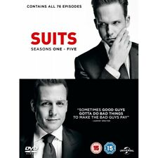 Suits - Season 1-5 DVD 2015 5053083071103