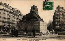 CPA Paris 14e Paris-Place Denfert-Rochereau-Le Lion de Belfort (310967)