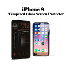 100% Premium Tempered Glass Screen protector protection For Apple iPhone 8
