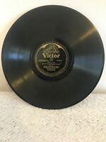 George Olsen 78rpm Single 10-inch Victor Records V.E. #19840 Who? & Sunny