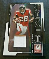 *VERY NICE* 2008 Donruss Elite STARS Game Used Jersey Card WARRICK DUNN (48/50)