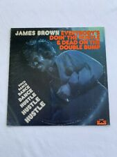 New listing James Brown Everybody's Doin' The Hustle & Dead On The Double Bump 1st Press '75