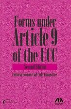 Forms Under Article 9 of the UCC, Uniform Commercial Code Committee, New Book