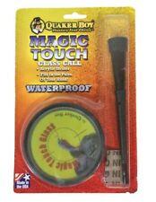 Magic Touch Glass Turkey Call Quaker Boy Waterproof Acrylic Striker Made in USA