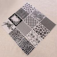 Butterfly Fireworks DIY Embossing Folder Stencil Scrapbooking Papercraft Decor