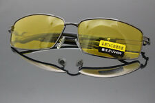 Free Shipping Polarized Sunglasses Night Vision Driving Glasses Yellow lens