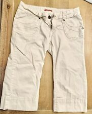 Junior-Women's Union Bay Skinny Shorts Size 9 Winter White Excellent!!